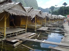 floating bungalows