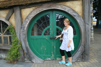Massive Hobbit door and me
