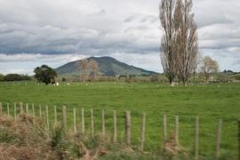 scenic railway view mountain