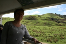 Me, enjoying the views