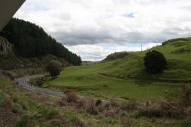 Scenic railway fields