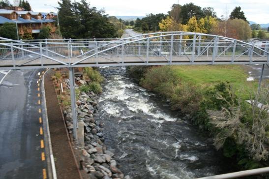 Scenic railway bridge