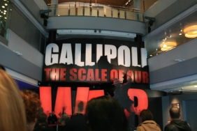 gallipoli war exhibition