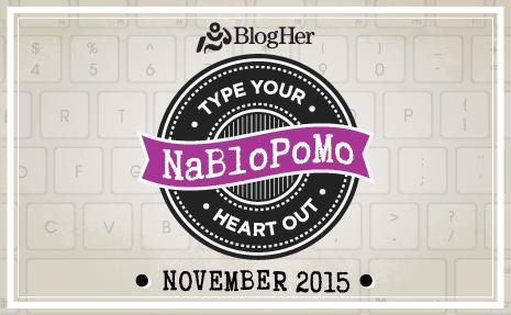 National Blog Posting Month 2015