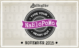 National Blog Posting Month 2015