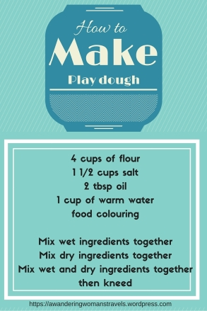 How to make play dough ingredients