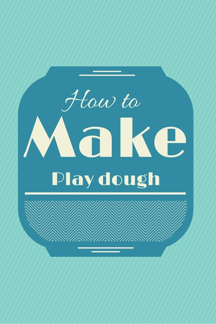 How to make quick and easy playdough