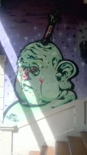 green man K road steps