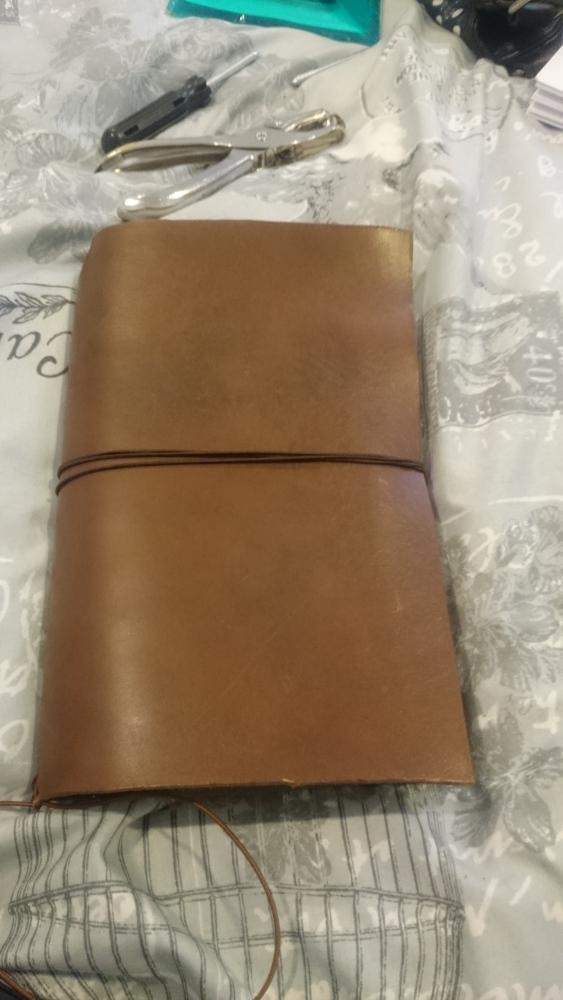 DIY Midori Travellers Notebook (4/6)
