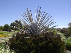 botanic gardens splayed sculpture