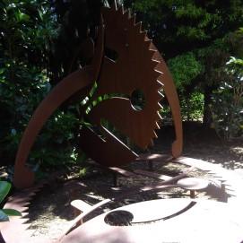 botanic gardens Awhi Rito sculpture