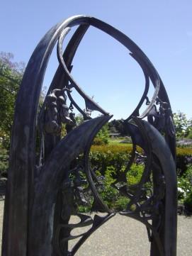 botanic gardens rose cathedral