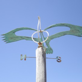 botanic gardens weather vane