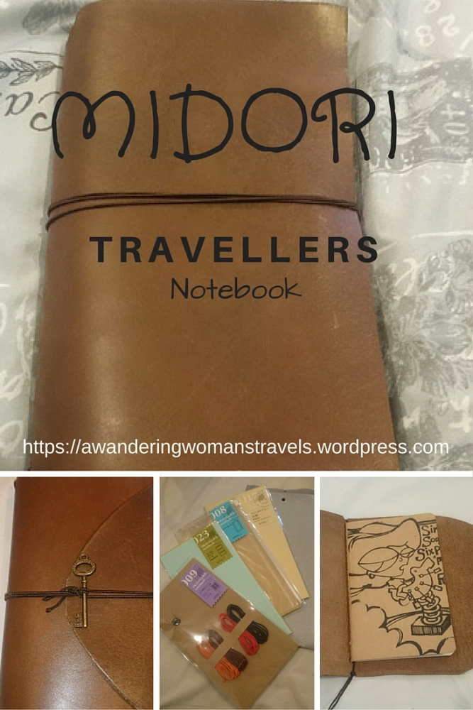 DIY Midori Travellers Notebook (1/6)