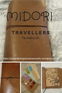 midori travellers notebook handmade